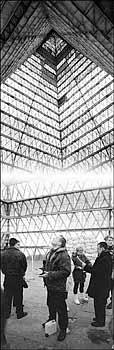 Технология изготовления 50 см пирамиды в домашних условиях.  По Рижскому шоссе тридцать восемь.