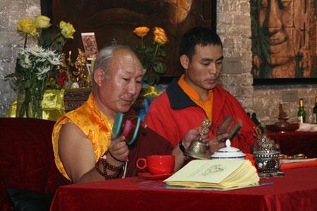 Тантрическое посвящение Дзамбалы буддийского мастера Ранрига Ринпоче