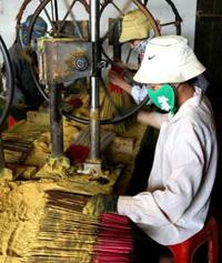 Производство благовоний — традиционное ремесло деревни Зокла