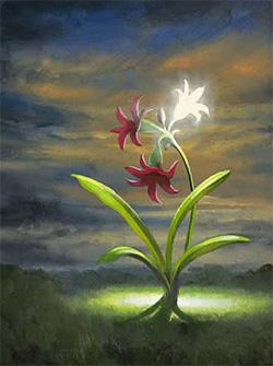 Patrick Howe «Awakening», фрагмент картины