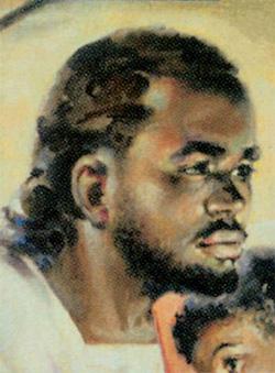 XX век Джо Каучи, «Черный Иисус благословляет детей»