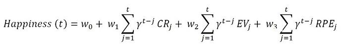 Математическая формула счастья