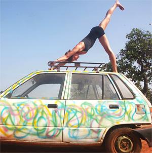 Йога для автолюбителей