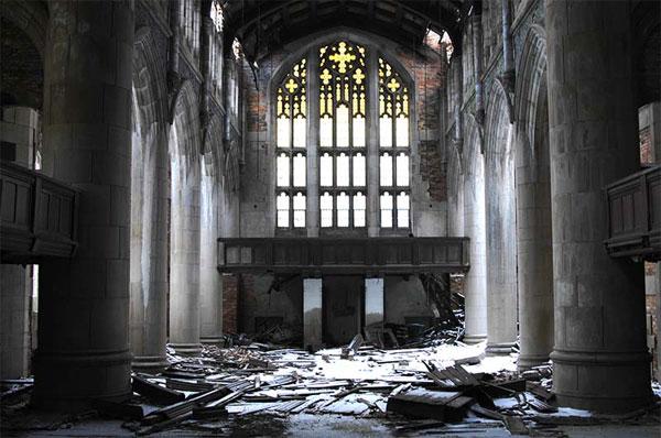 Мрачное настоящее и будущее религии